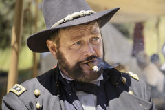 Ulysses Grant Immagine Stock Libera da Diritti