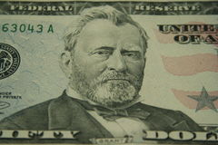 Ulysses Grant. United States 50 dollar bill royalty free stock image