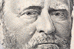 Ulysses Grant een close-upportret Stock Foto's