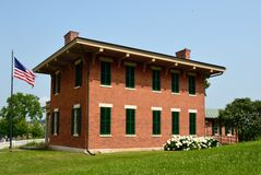 Ulysses Grant Home Stock Afbeelding