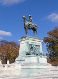 Ulysses S Grant Memorial i Washington, DC Arkivfoton