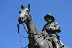 Ulysses S. Grant Memorial på Vicksburg Royaltyfri Bild
