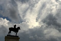 Ulysses S. Grant Memorial in Washington DC.  royalty free stock photos