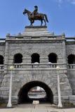 Ulysses S Grant Sculpture royalty-vrije stock foto