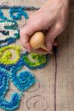 umówić się matowemu dywanikowi Zdjęcie Royalty Free