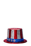 Um ô sparkling do chapéu da celebração de julho Foto de Stock Royalty Free