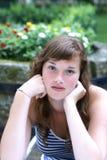 Um adolescente. Imagens de Stock Royalty Free
