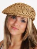 Um adolescente bonito Fotografia de Stock