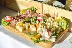 Um alimento extensamente variado imagens de stock