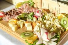 Um alimento extensamente variado foto de stock royalty free