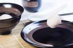 Bola de arroz glutenous chinesa fotografia de stock royalty free