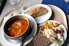 Um almoço saudável Imagem de Stock