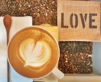 Um amor do coração um Fotografia de Stock
