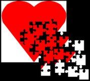 Um amor transitório - ilustração stock