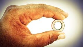 Um anel fotos de stock