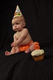 um aniversário de 6 meses Imagem de Stock Royalty Free