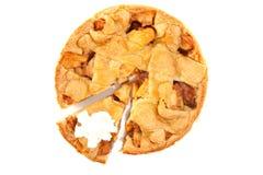 Um apple-pie caseiro Imagem de Stock
