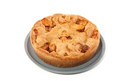 Um apple-pie caseiro Fotografia de Stock