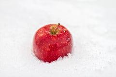 Um Apple vermelho Fotografia de Stock