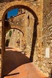 Um archway. Fotografia de Stock Royalty Free