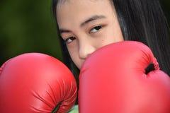 Um atleta bonito da criança fotografia de stock royalty free