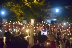 Um ato calmo da vela em Semarang Fotografia de Stock