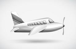Um avião comercial Fotografia de Stock