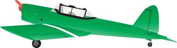 Um avião de treinamento Imagem de Stock Royalty Free