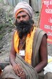 Um babá de Sadhu Fotos de Stock
