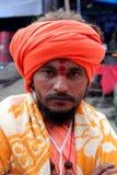 Um babá de Sadhu Imagens de Stock Royalty Free