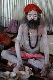Um babá de Sadhu Imagem de Stock
