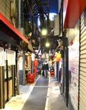 Um backstreet em Shinjuku Fotografia de Stock Royalty Free
