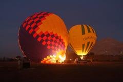 Um balão de ar quente Fotografia de Stock Royalty Free