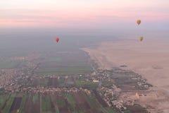Um balão de ar quente Foto de Stock Royalty Free