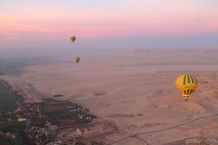 Um balão de ar quente Imagem de Stock Royalty Free