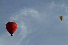 Um balão de ar quente Fotografia de Stock