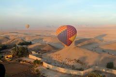 Um balão de ar quente Imagem de Stock