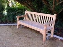 Um banco em um parque Imagem de Stock Royalty Free