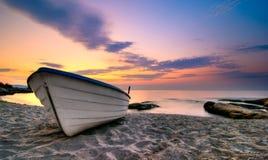 Um barco Imagem de Stock