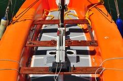 Um barco. Imagens de Stock