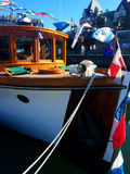 Um barco imagem de stock royalty free