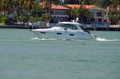 Barco de pesca de gama alta imagem de stock