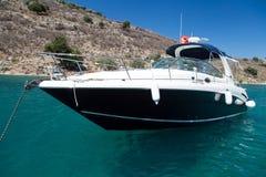 Um barco a motor Fotografia de Stock Royalty Free