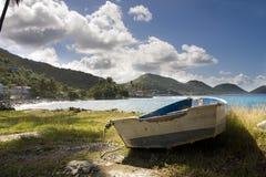 Um barco velho fotografia de stock royalty free