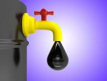 Um barril de petróleo Fotos de Stock Royalty Free