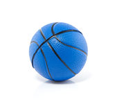 Um basquetebol azul Imagem de Stock Royalty Free