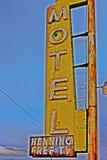 Um batente no café de Bagdade, na estrada 66 histórica Fotos de Stock