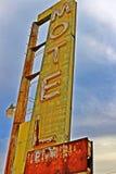 Um batente no café de Bagdade, na estrada 66 histórica Imagem de Stock