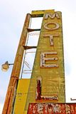Um batente no café de Bagdade, na estrada 66 histórica Fotografia de Stock Royalty Free