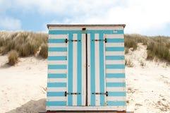 Um beachhouse de madeira Fotos de Stock
